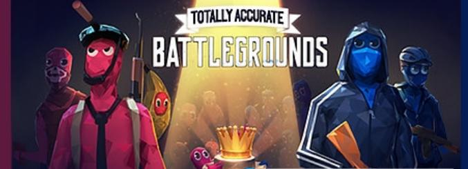 鬼畜全面吃鸡模拟器Totally Accurate Battlegrounds