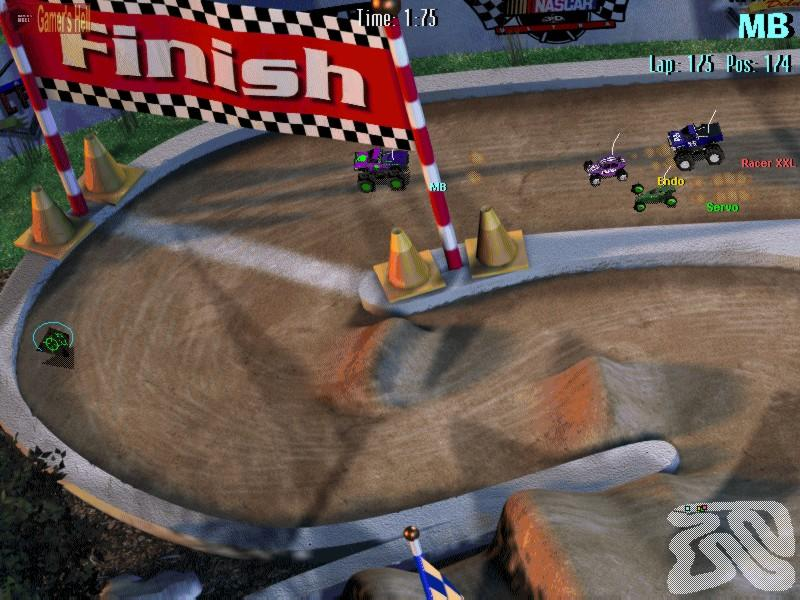 3D豪华遥控赛车 3D Ultra Radio Control Racers Deluxe Trax