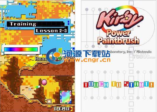 触摸卡比 中文版 Kirby - Power Paintbrush