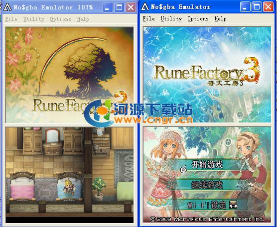 新牧场物语 符文工房3 中文版 Rune Factory 3