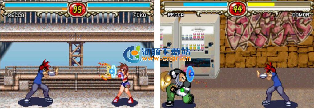 烈火之炎 Recca no Honoo-The Game