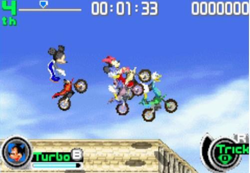 迪斯尼全明星体育系列-摩托车 Disney Sports Motocross