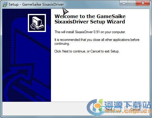 PS3手柄接电脑的驱动(GameSaike SixaxisDriver) 0.91 安装版