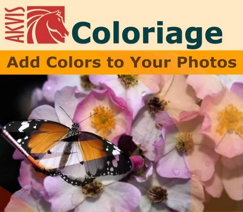 AKVIS Coloriage(AKVIS滤镜插件)