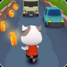 猫咪地铁跑酷手机游戏