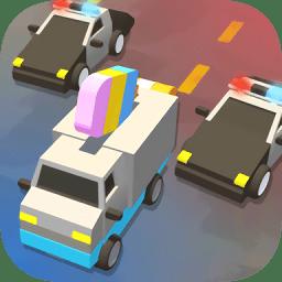 汽车逃亡小游戏