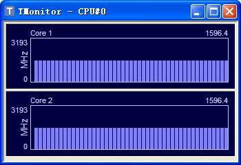 CPUID TMonitor V1.04 绿色版 显示cpu时钟频率
