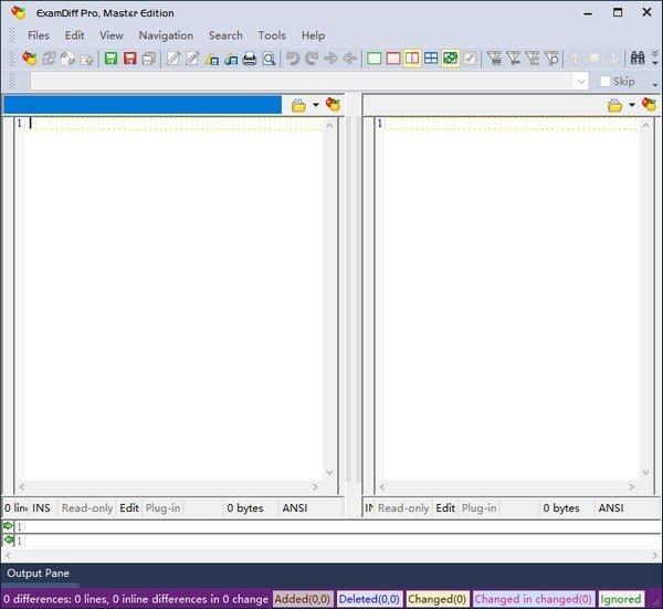 examdiff文本比较软件图1