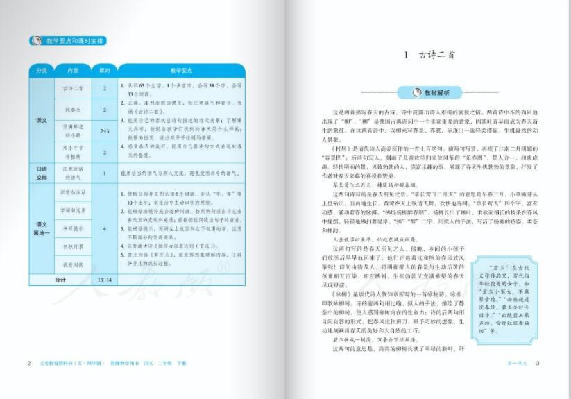 语文二班级下册教授熏陶用书电子版图4