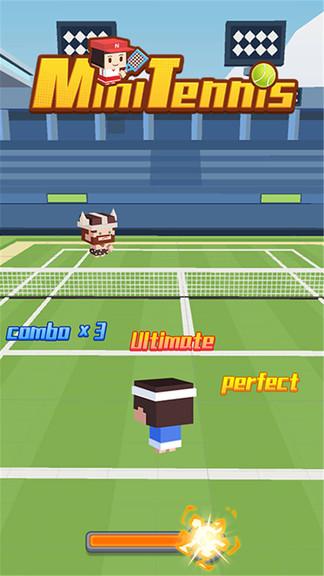 迷你网球小游戏图2