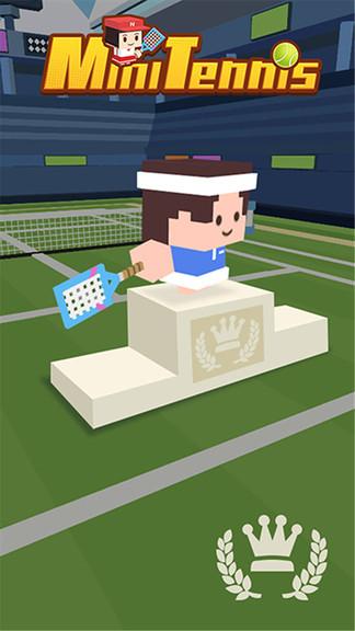 迷你网球小游戏图1