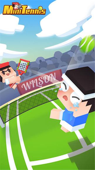迷你网球小游戏图3