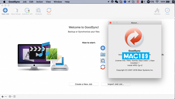 goodsync for mac(文件同步软件)图1