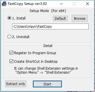 fastcopy pe版 v3.92 最新版图2