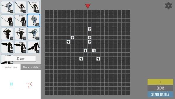 呆板人战役模拟器游戏图1