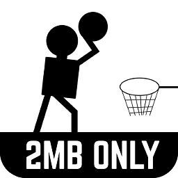 黑色篮球游戏